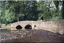 SS9843 : Gallox Bridge by Peter Jeffery