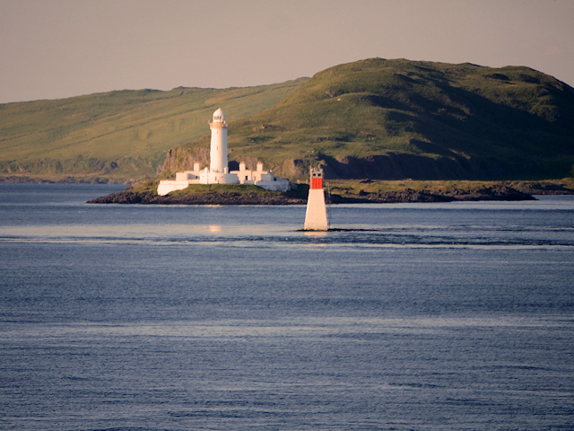 Lady's Rock Beacon and Lismore Lighthouse