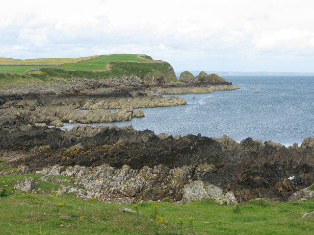 Rocky Coast at the Isle of Whithorn