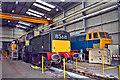 SO8375 : Rare diesels at Kidderminster Depot by Philip Pankhurst