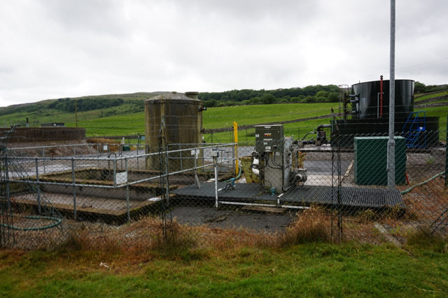 Sewage works at Horton-in-Ribblesdale