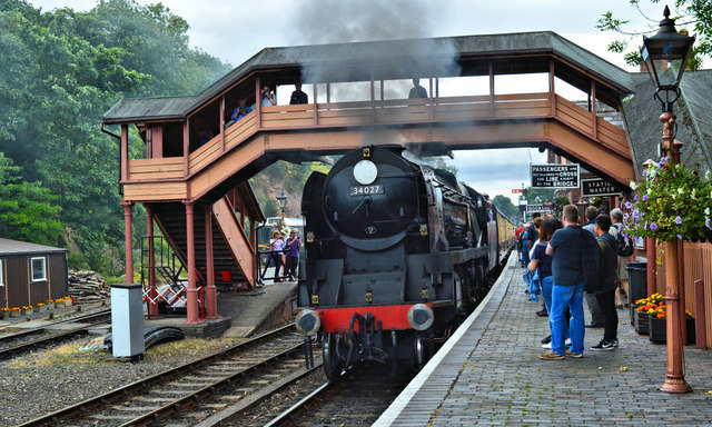 Taw Valley arrives at Bewdley