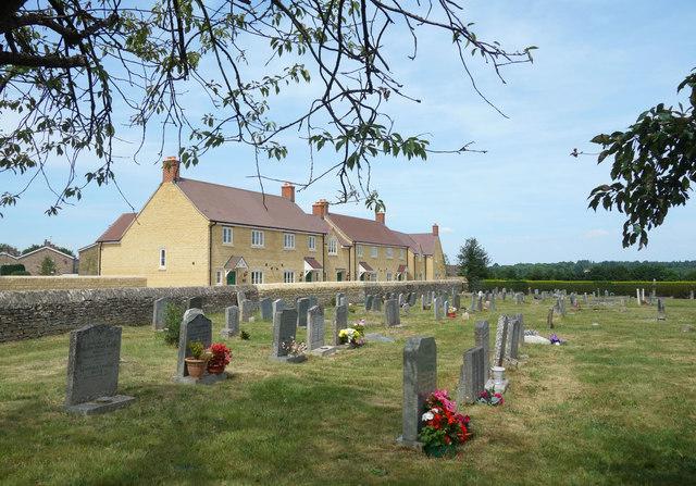 Houses by the Churchyard