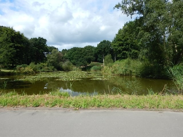 Wentworth Golf Course -  Lake near The Dormy House