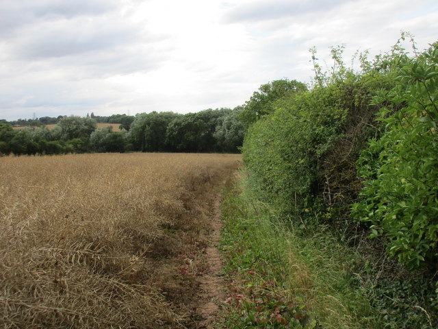 Bridleway to Halloughton and Brackenhurst