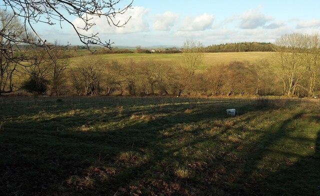 Farmland near Broadmoor