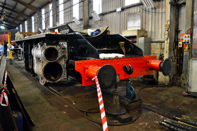 Peep Behind the Scenes - Bridgnorth locomotive works