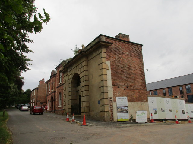 Lodge to the former House of Correction