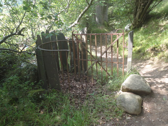Kissing gate, Llanllechid
