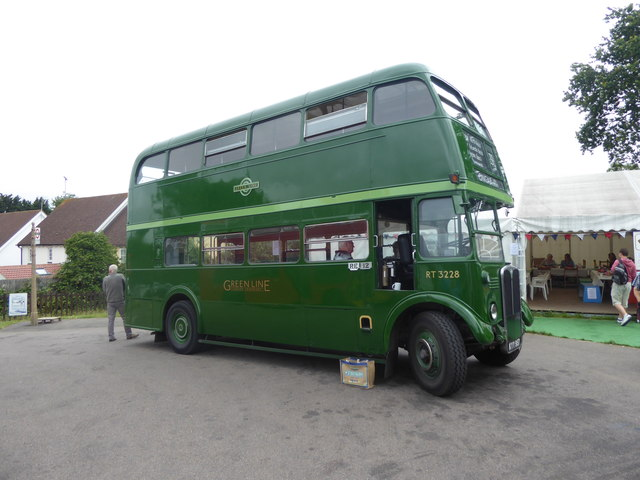 Heritage RT bus at North Weald station
