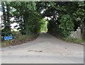 ST6980 : Western end of Besom Lane, Westerleigh by Jaggery