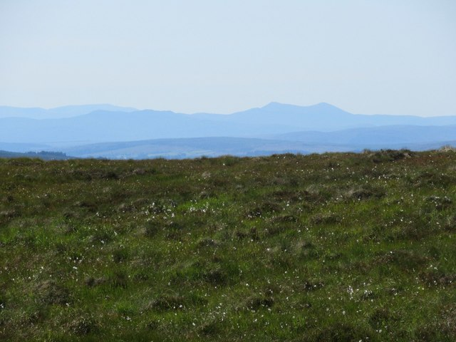 View over moor above Dalnessie, Lairg