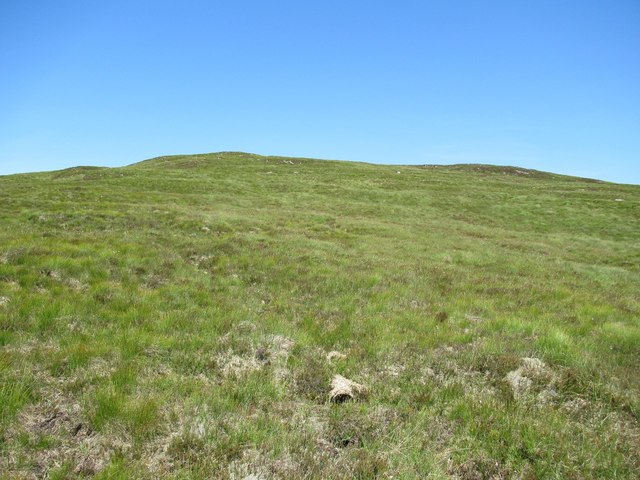 Slopes of Sron Leathad Chleansaid above Dalnessie, Lairg