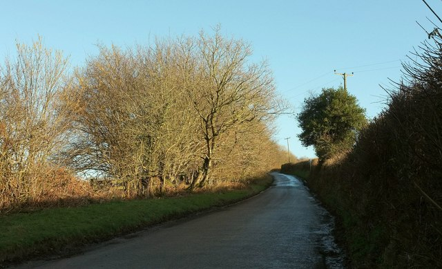 Lane to Broadmoor Cross