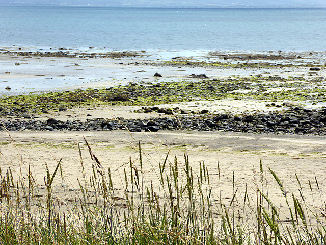 The beach near Afon Wen
