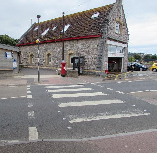 Zebra crossing, Queen's Drive, Exmouth