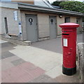 SY0080 : King George VI pillarbox near public toilets, Queen's Drive, Exmouth by Jaggery