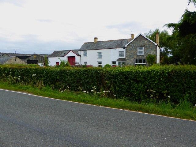 Farm on Goldcliff Road