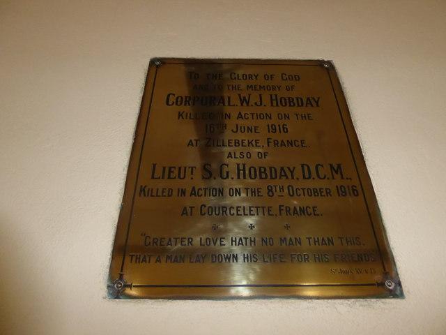 St Michael, Penhurst: memorial (c)