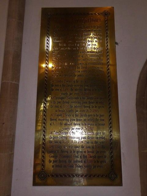 Inside St Mary, Yatton (c)