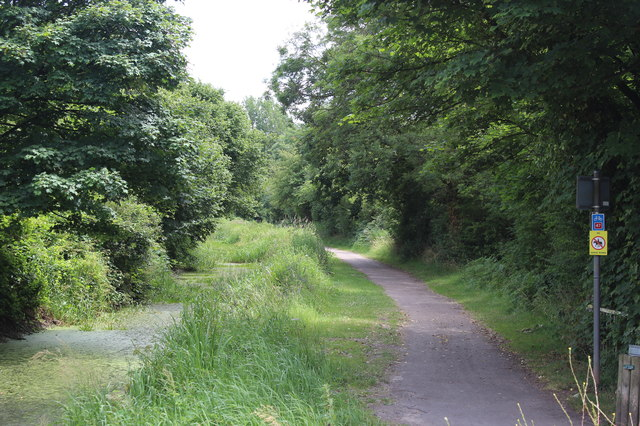 Monmouthshire & Brecon Canal (Crumlin Arm) at Ruskin Avenue