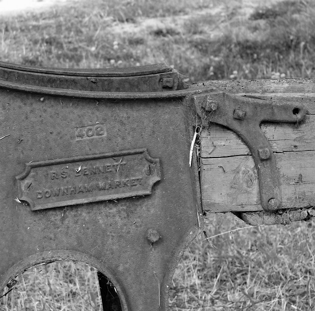 RS Bennett Chaff cutter - detail
