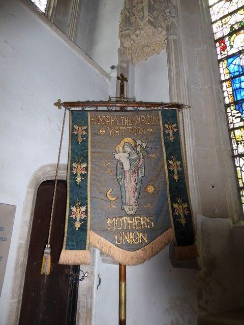 St Mary, Yatton: banner (b)