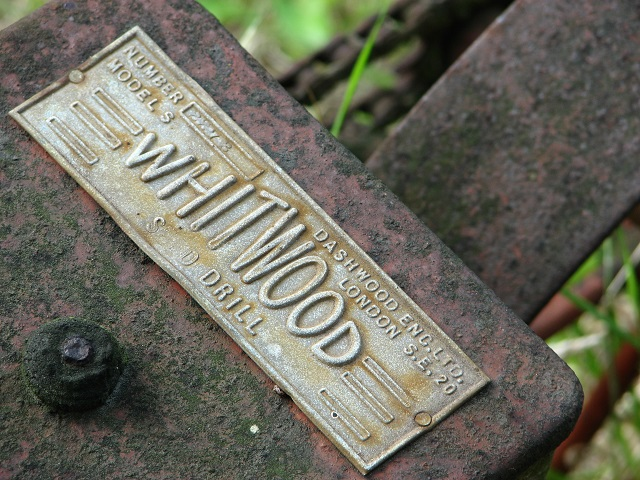 Whitwood Seed Drill - detail