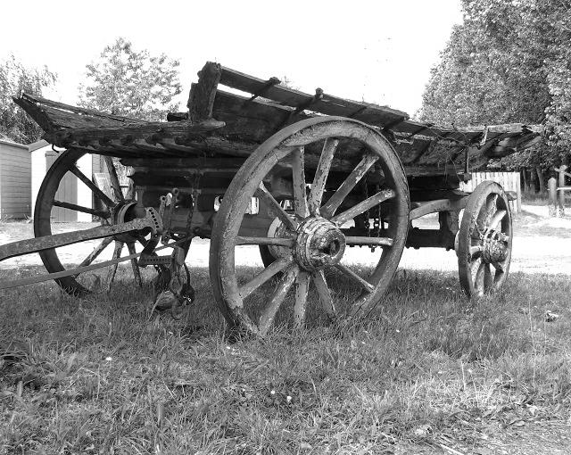 An old farm waggon