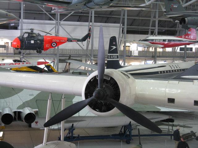 The AirSpace Hangar at Duxford