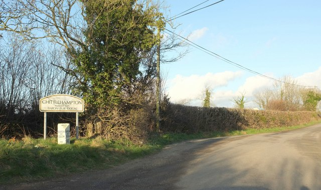 Approaching Chittlehampton