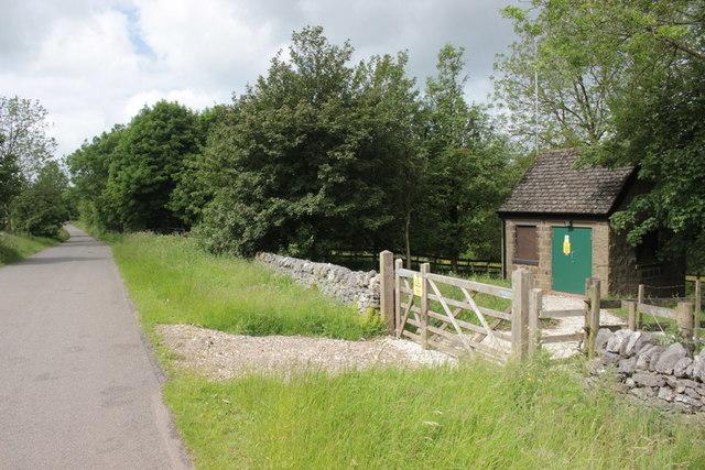 Telephone Exchange next to Hartington Nature Reserve