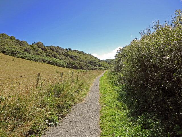 Coast Path Shortcut, Dinas