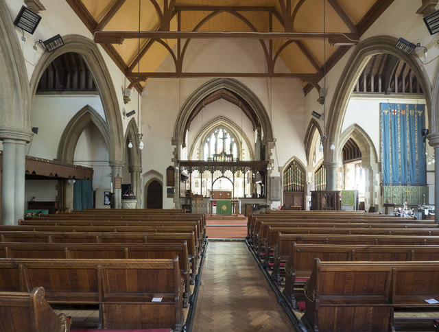 St George, Wolverton - East end