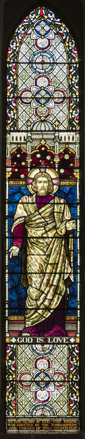 St George, Wolverton - Stained glass window