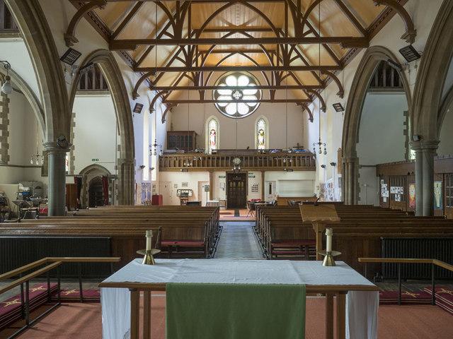 St George, Wolverton - West end