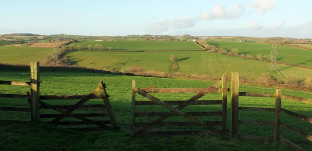Across the Hawkridge Brook valley
