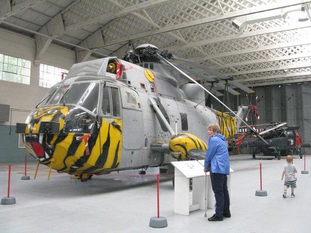 Westland Sea King HAS 6 at Duxford