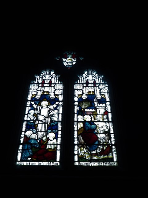 St Mary, Yatton: stained glass window (d)