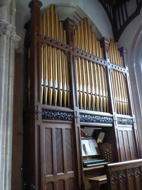 St Mary, Yatton: organ