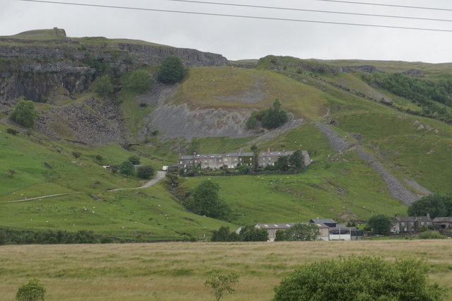 Houses at Arcow Quarry