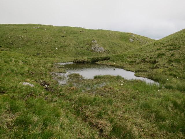 Small pool below Beinn Mhic na Cèisich