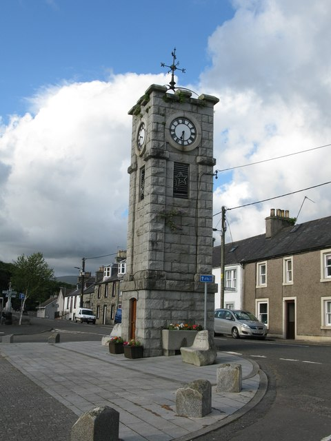 Clock Tower, Adamson Square, Creetown