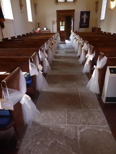 Inside Holy Trinity, Cleeve (b)