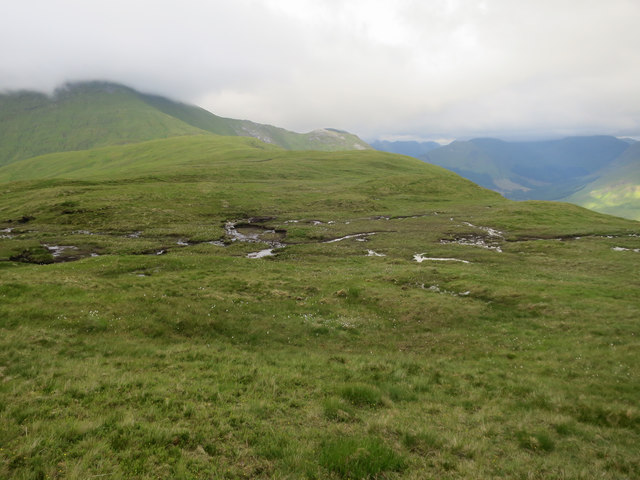 Wet area on the broad ridge