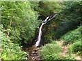NX4972 : Buck Loup Waterfall, north-east of Newton Stewart by G Laird