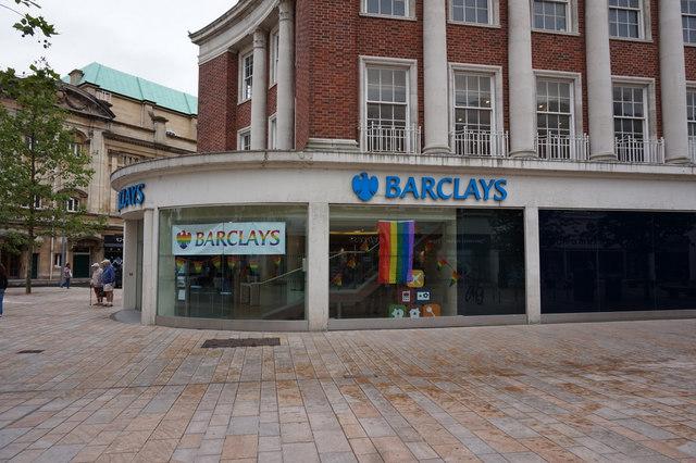Barclays Bank supports Gay Pride Hull