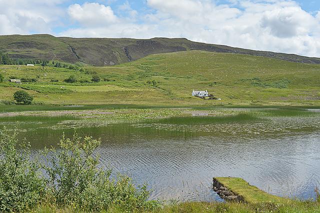 Looking across Loch a' Mhuillin