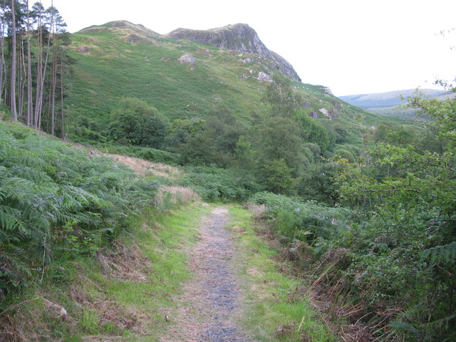 Path to Murray's Monument