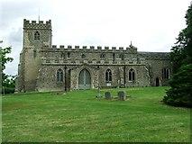 TL4538 : Holy Trinity Chrishall Essex by Keith Evans